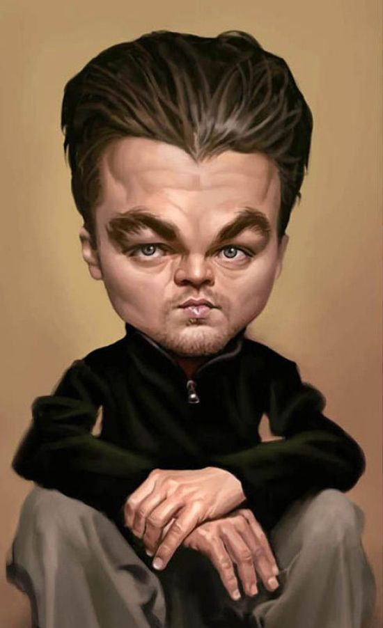 Celebrity Caricatures - Gallery | eBaum's World
