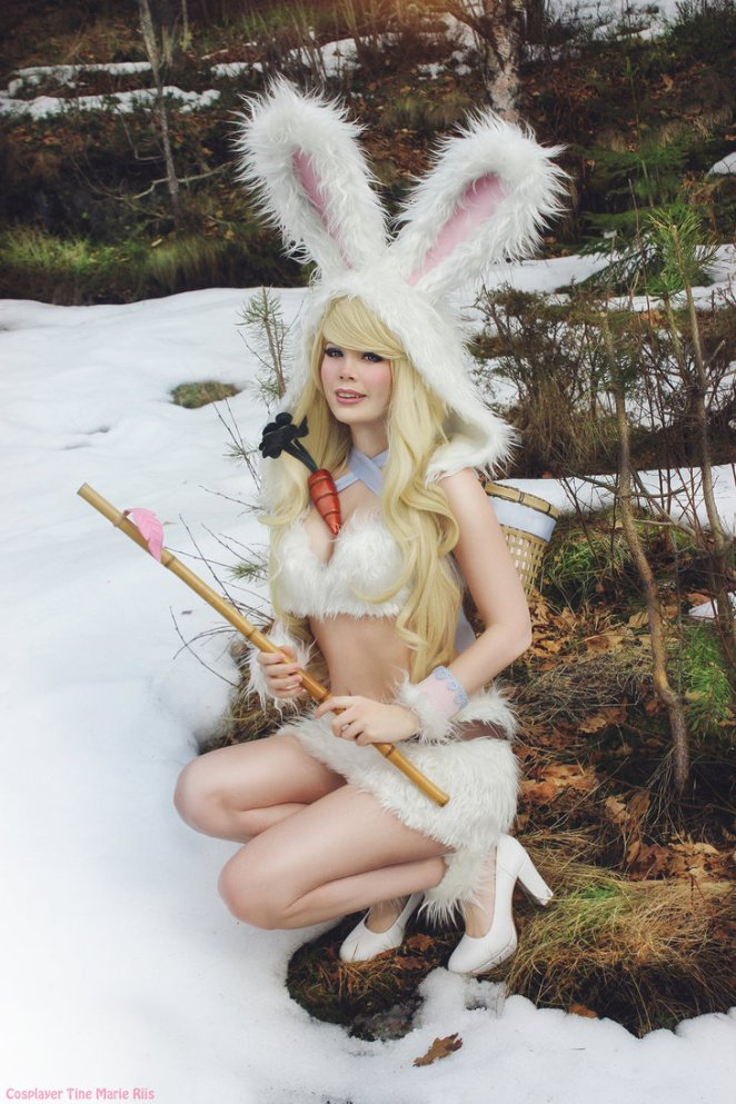 Cottontail Teemo Cosplay - League of Legends