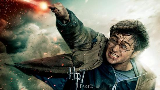 harry potter in deathly hallows movie poster