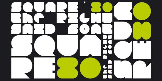 spuare80 free font for download
