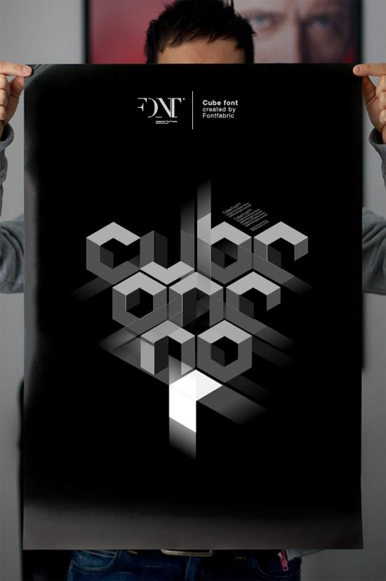 cube 02 font for free download