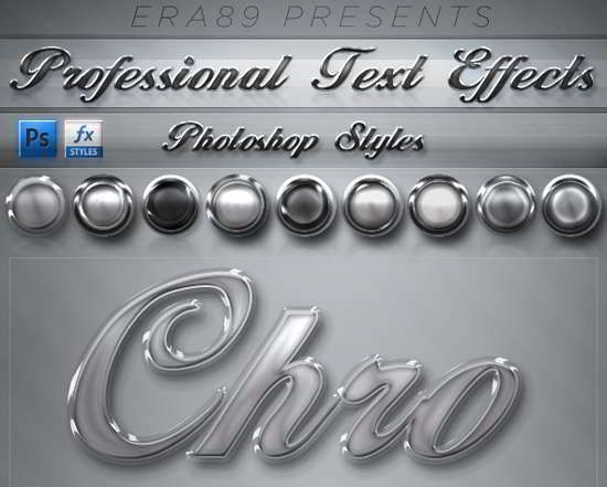 Pro Text Effects - PS Styles