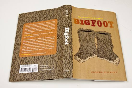 Bigfoot! book cover