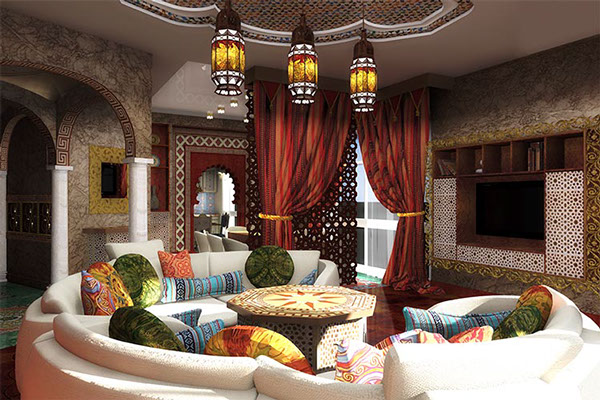 Cool Interior Design idea arabian style iterior 1.13