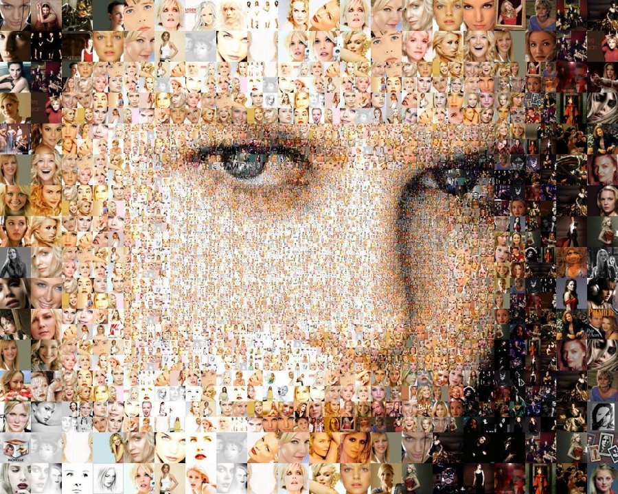 30  incredible examples of photo mosaic porrtraits