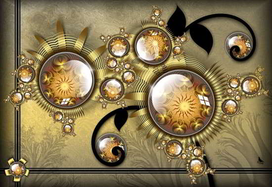 collection of 30  hq fractal art wallpapers