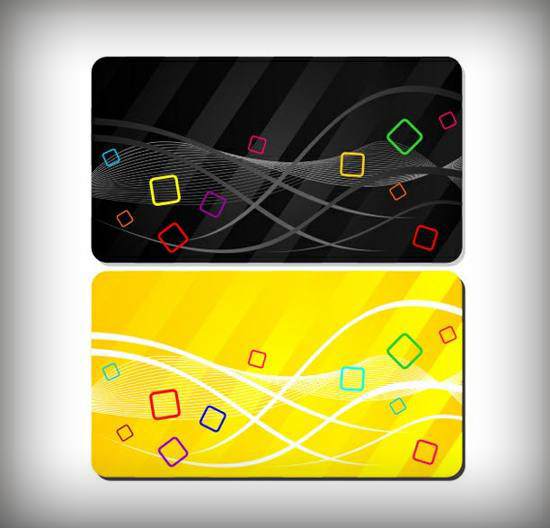 free Fun Colorful Business - Gift Card Templates Set for free