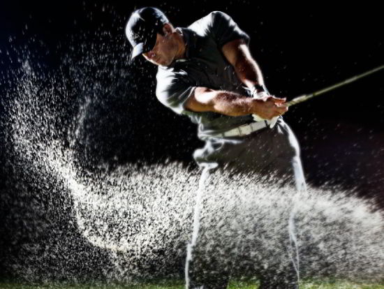 golf advertisment photography