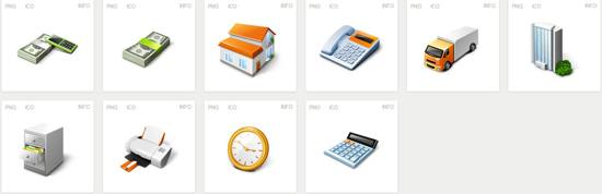 free Iconset Free Business Desktop Icons