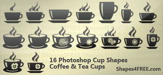 free Photoshop Cup Shapes