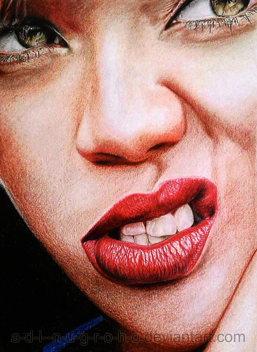 Interior Design Drawings Sketches: 30 Stunning Colored Pencil Art Drawings Of Cute Celebrities