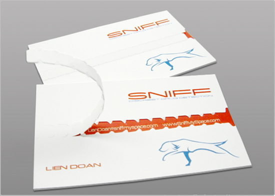 Sniff Business Card Design