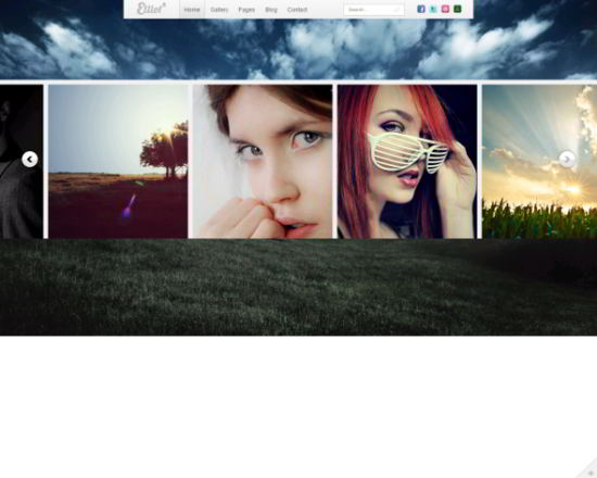 Elliot HTML5 Photography Template