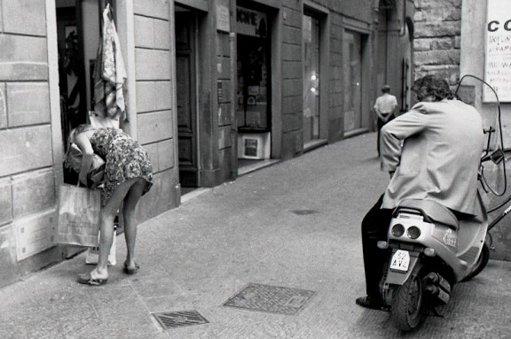 Streets of Florence Funny Street Photography