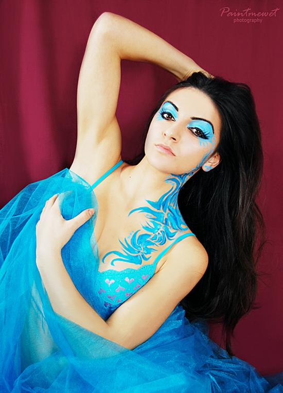 beautiful body painting