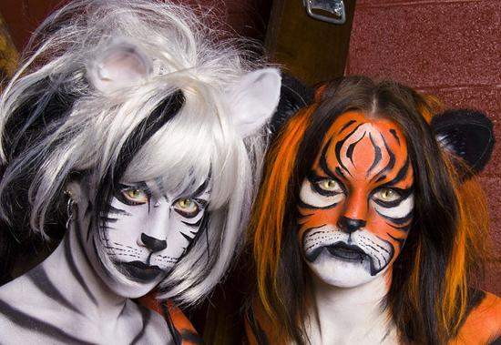 body painting imma tiger 2