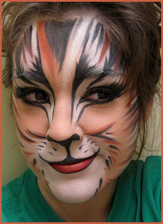 face painting musical cats