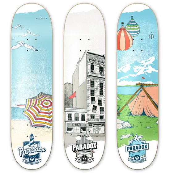 Paradox Skateboards Attraction Series Boards