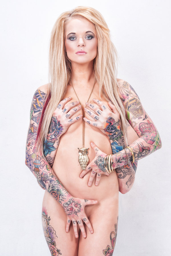 heavenly ink - pin up model tattoos