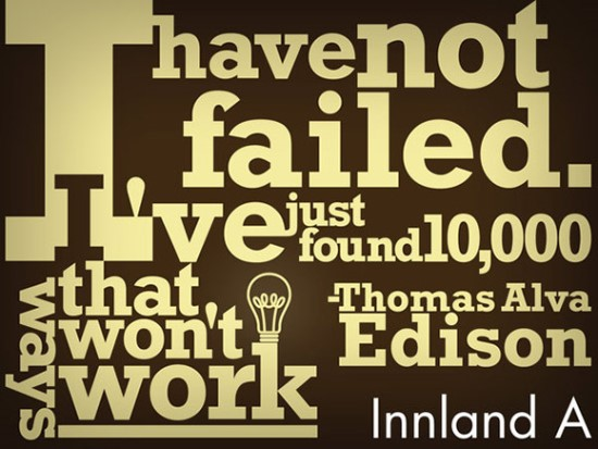 Thomas Alva Edison Quote