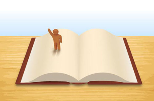 Open Book Vector Graphics