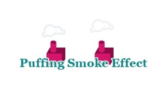Puffing Smoke Effect In Jquery