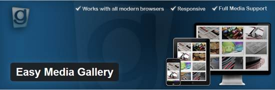 easy media gallery wordpress plugin