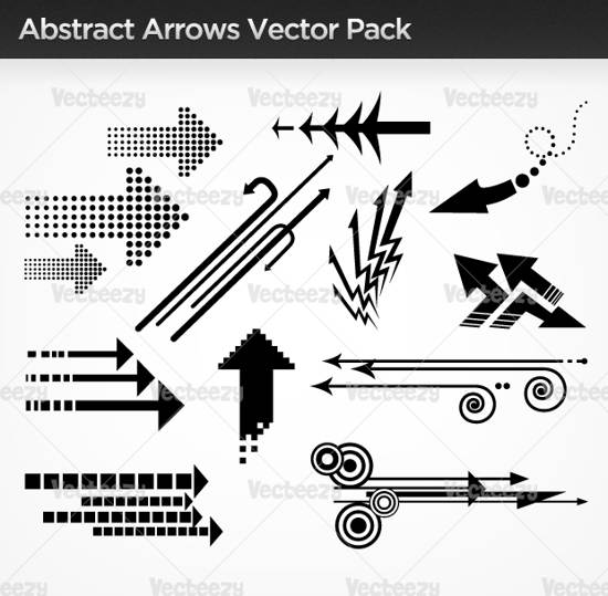 premium abstract arrows