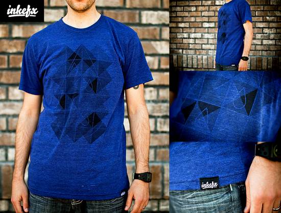 inkefx geometry t-shirt design