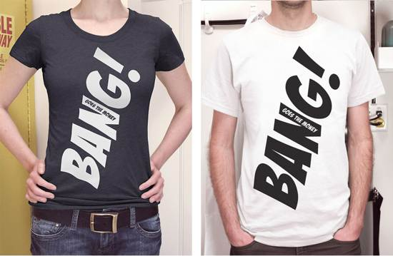 bang! t-shirt design