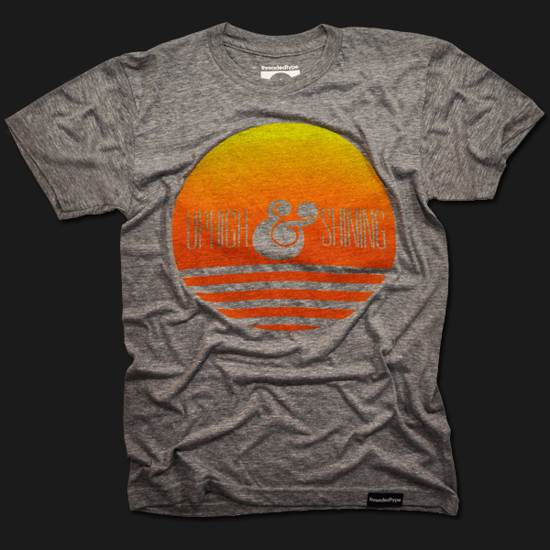shining sun t-shirt design