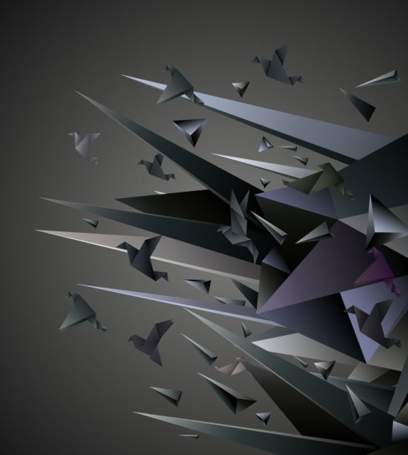 Free vector about origami