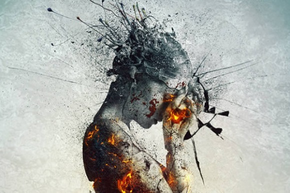 Shattered Statue in Photoshop