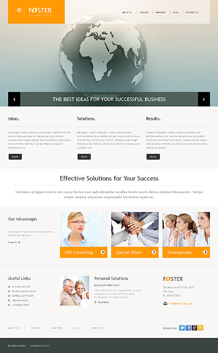 Business Group Online WordPress Theme