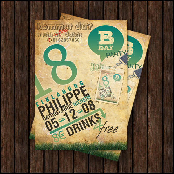 Philippes B-Day Flyer