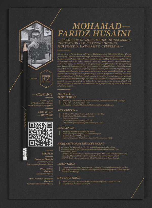 Brilliant Resume Designs Like You have never seen before (11)