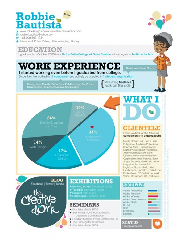 Brilliant Resume Designs Like You have never seen before (13)