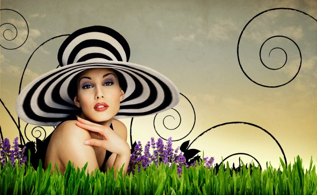 Mobley Fashion Green Photo Manipulation Projects and adverts