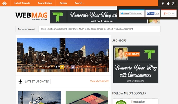 Best Blogger Templates (10)