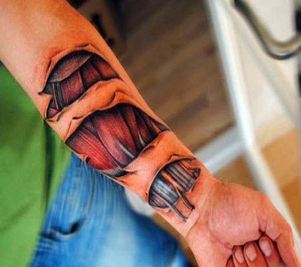 Bio-mechanical Tattoo Designs Examples (23)