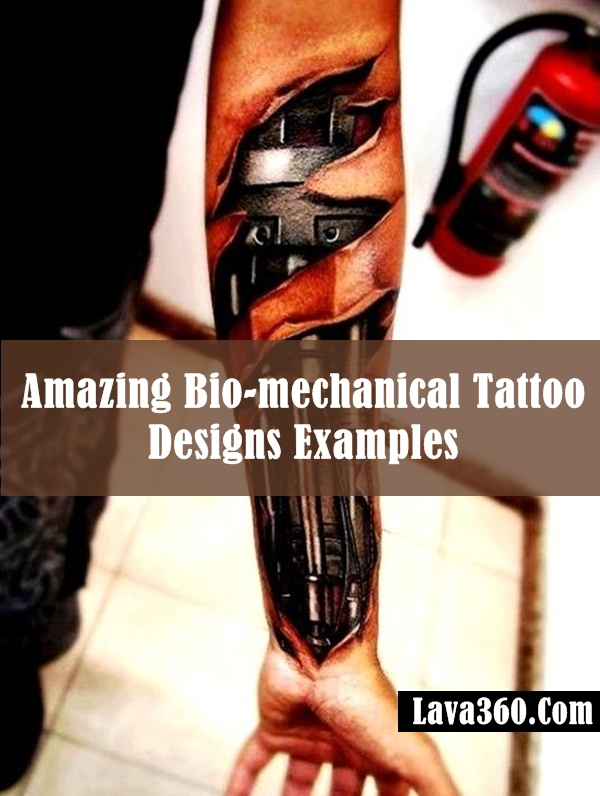 Bio-mechanical Tattoo Designs Examples (9)