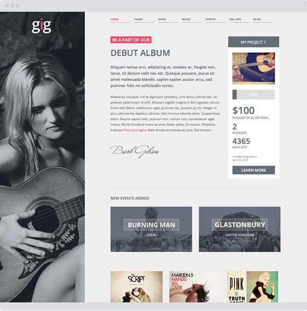 Crowd Funding WordPress Themes of the Year11