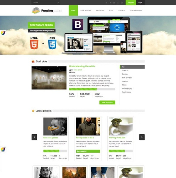 Crowd Funding WordPress Themes of the Year8