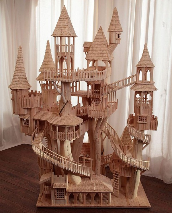 Creative Wooden Artworks and Sculptures1