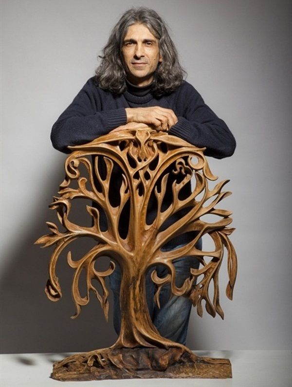 Creative Wooden Artworks and Sculptures10