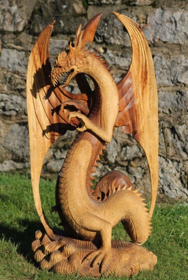 Creative Wooden Artworks and Sculptures21