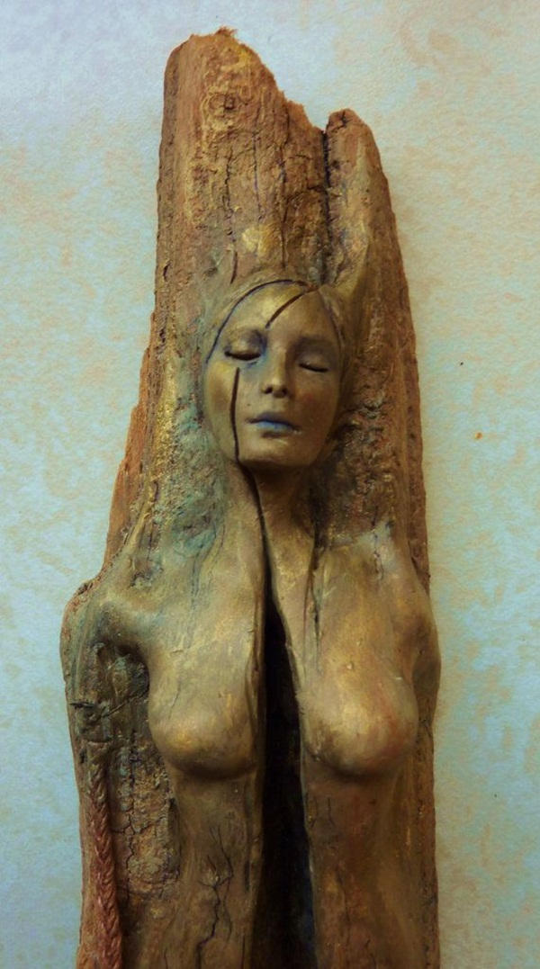 Creative Wooden Artworks and Sculptures3