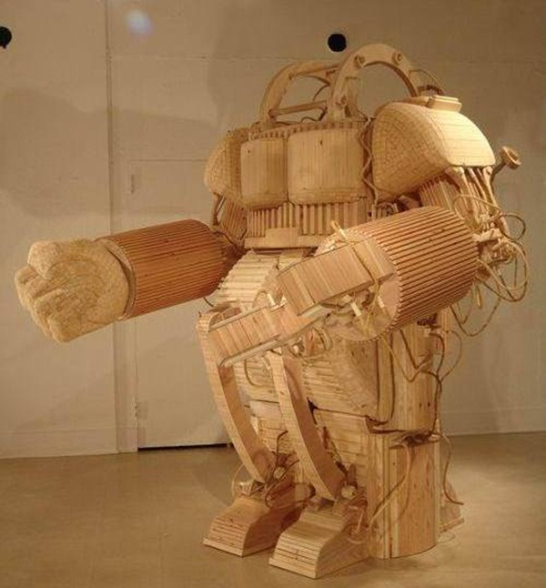 Creative Wooden Artworks and Sculptures6.1