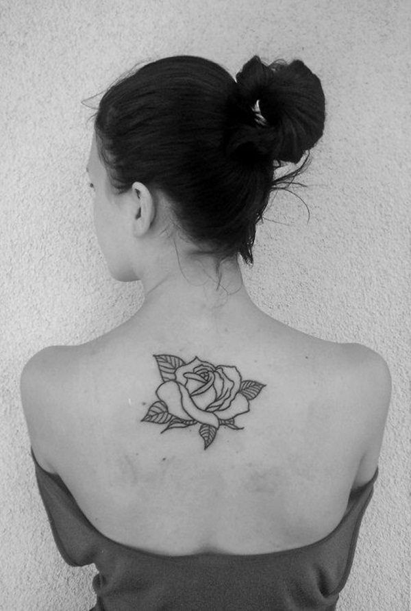 Attractive and Sexy Rose Tattoo Designs9