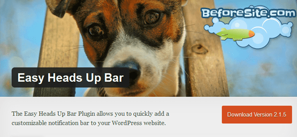 Best WordPress Notification Bar Plugins 5